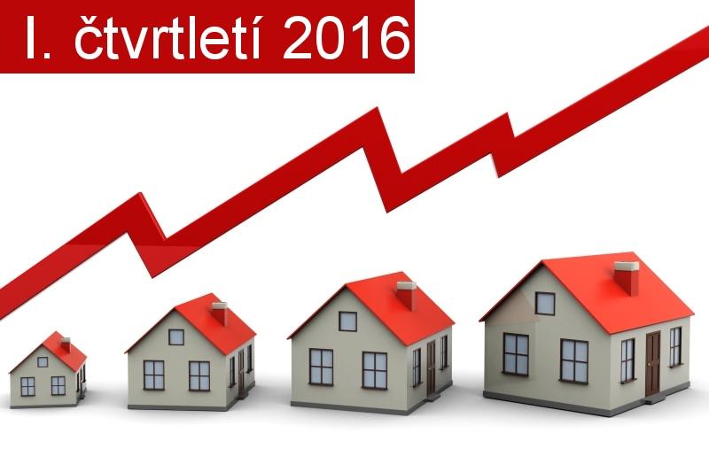 Kompletní informace o vývoji cen nemovitostí v Brně a okolí, I. čtvrtletí 2016