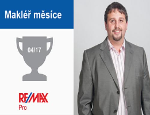 Ing. Petr Vaněk – makléř měsíce dubna 2017