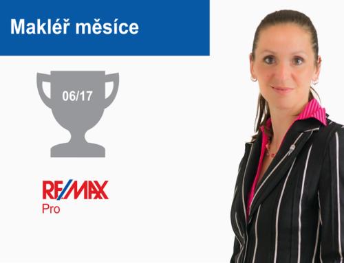 Lucie Pavlíčková – makléř měsíce června 2017