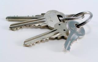 klíče od bytu nájem
