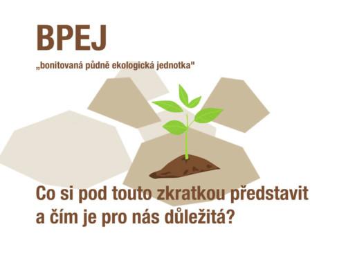 BPEJ – bonitovaná půdně ekologická jednotka