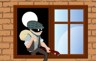 zloději nemají dovolenou
