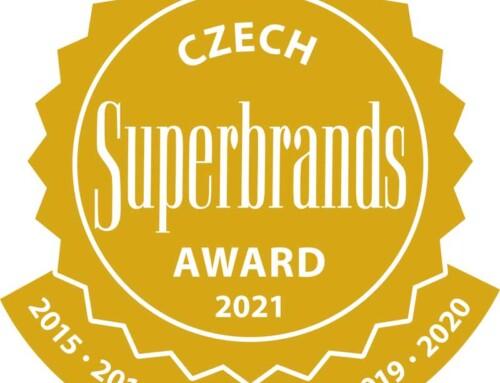 Jsme součástí rodiny Superbrands